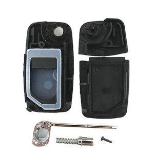 OkeyTech 2 кнопки для Chery A5 Fulwin Tiggo E5 A1 чехол для ключей для пасхального автомобиля чехол для ключа с дистанционным управлением Fob пустой раскладн...