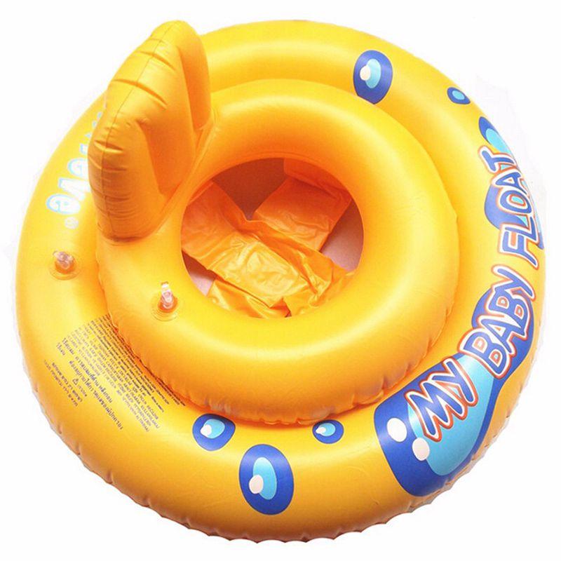 Baby Infant Kids Toddler Swimming Seat Pool Float Ring Bath Buoyancy Aid Water Fun