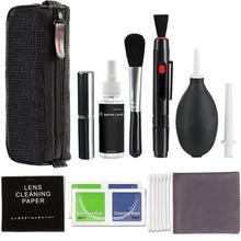 Cleaner Kit Professional DSLR Lens Camera Cleaning Brush Set Spray Bottle Lens Pen Brush Blower Practical Digital Camera Tools