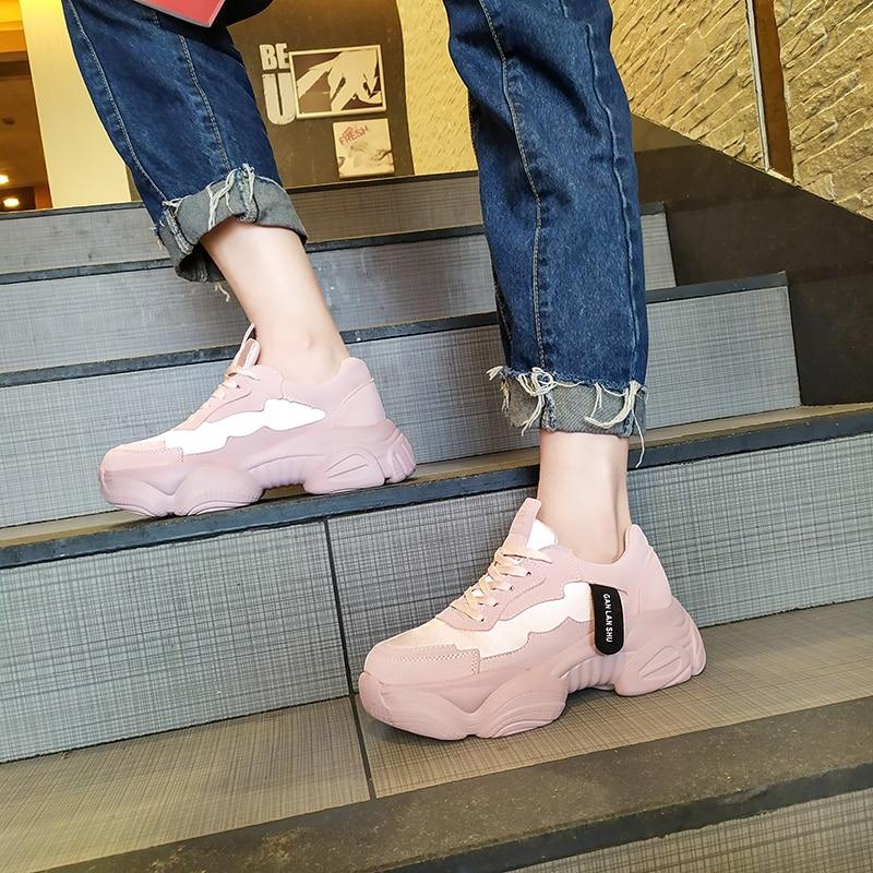 Mega Sale #a4df6 New Women Sneakers 2019 White Chunky