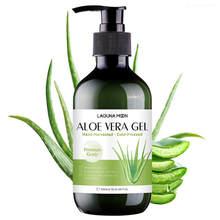 LAGUNAMOON Natural Organic Pure Anti Acne Sunburn Relief głęboko nawilżający żel aloesowy kojące nawilżające 300ml