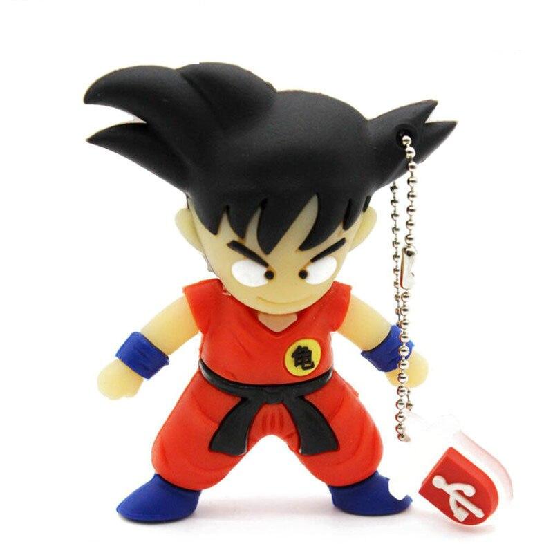 Dragon Ball Model Usb Flash Cartoon Memory Stick DragonBallZ Pendrives 8gb 16gb 32gb Goku Usb Stick Mini Pen Drive USB 2.0