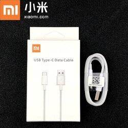 Оригинальный зарядный кабель Xiaomi Mi 9 Usb Type-c, белый кабель для быстрой зарядки и синхронизации данных для Mi 9 SE T 8 A3 Max 3 Mix 3 Redmi note 8