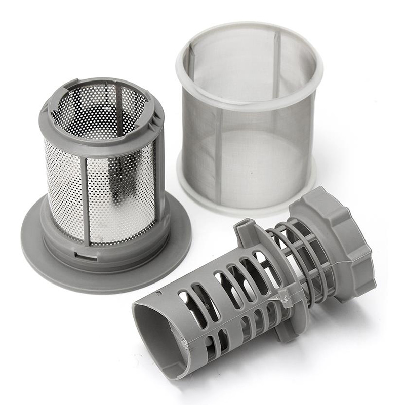 HOT-2 Part Dishwasher Mesh Filter Set Grey PP For Bosch Dishwasher 427903 170740 Series Replacement For Dishwasher