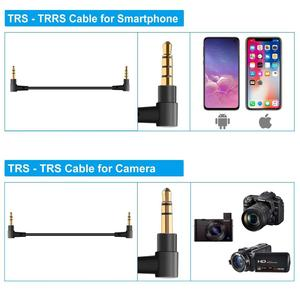 Image 4 - SOKANI TINY UHF Wireless Lavalier Microphone System Lapel Lav video Mic for DSLR Cameras Smartphone VS RODE wireless go