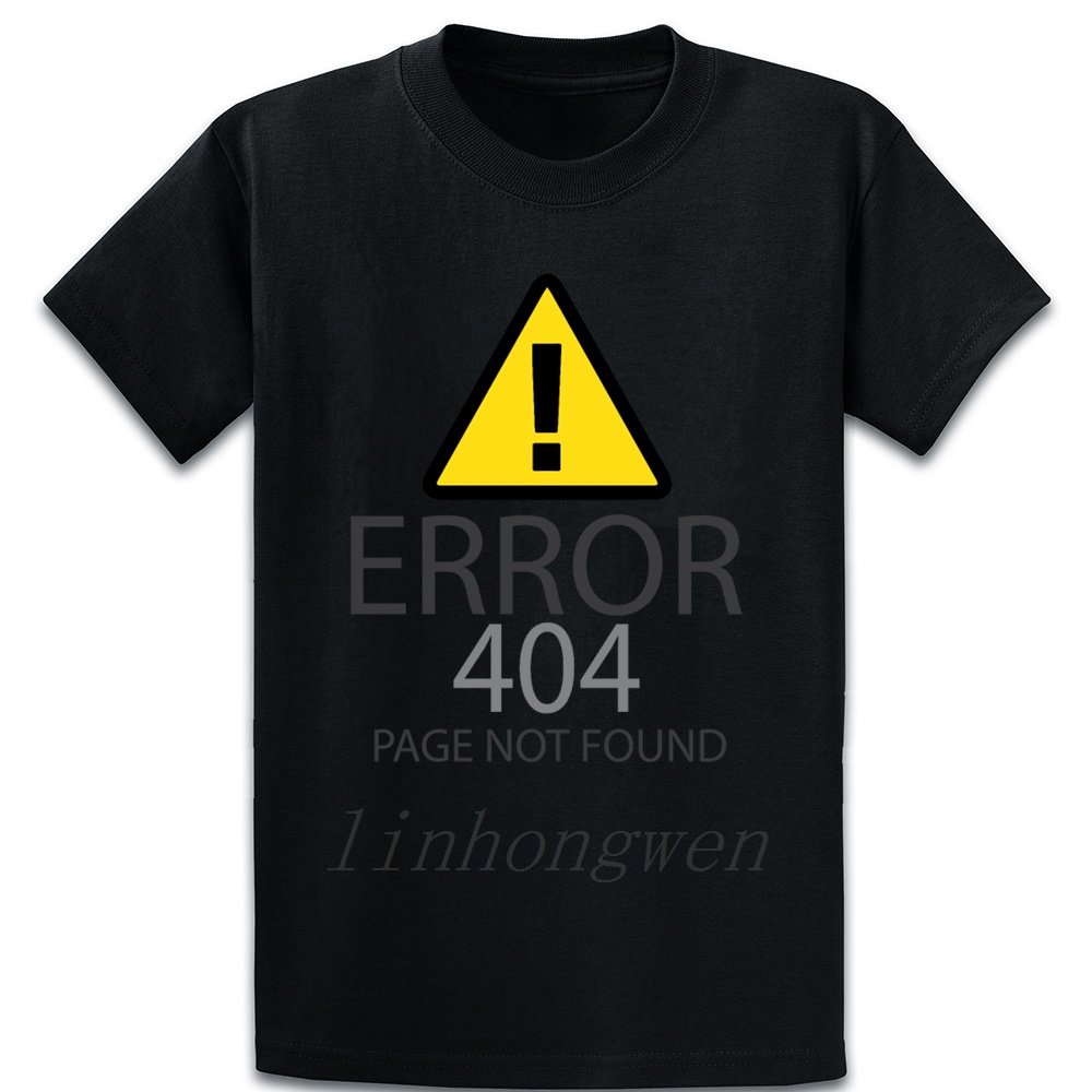<font><b>Error</b></font> <font><b>404</b></font> Website Page Not Found T <font><b>Shirt</b></font> Short Sleeve Crazy Outfit Fashion Summer Over Size S-5XL Natural Character <font><b>Shirt</b></font> image