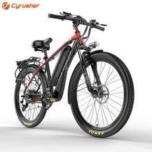 CyrusherT8 Mans Quick 21 Speeds Moutain Electrical Bicycle 250Watt 48V 10AH Disc Brakes 19KG Mountain Ebike  17X26Inch