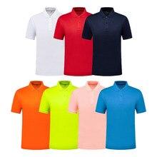 Бренд SANHENG, летняя дешевая Повседневная рубашка-поло с коротким рукавом, индивидуальный логотип компании, рубашка-поло на заказ для мужчин и...