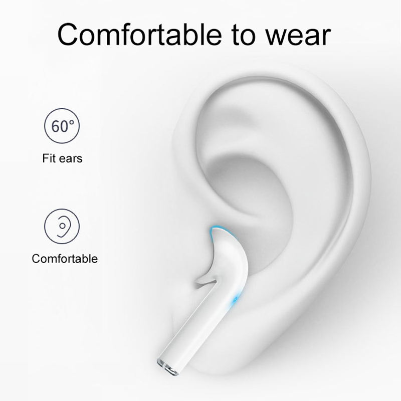TWS Bluetooth Wireless Headphones Bass Headset Touch Control Sport Earbuds Stereo Earphone For iPhone Xiaomi Android Smart Phone