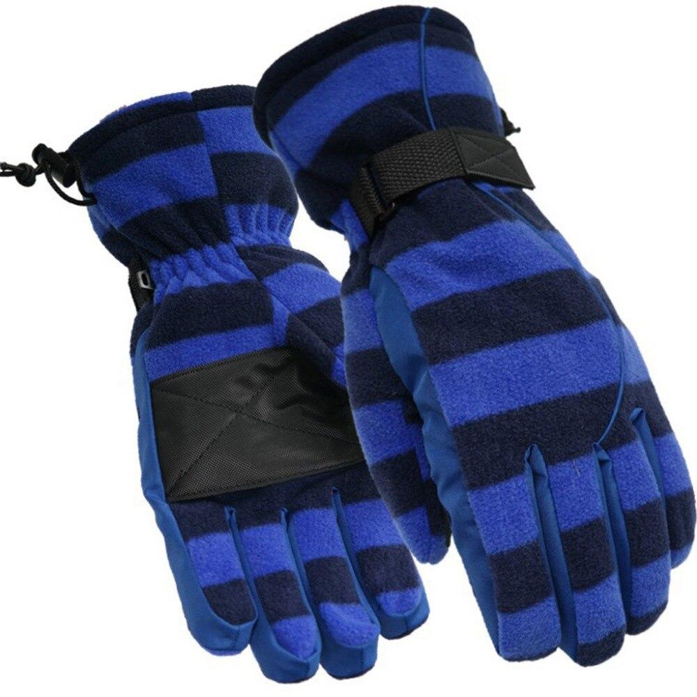 Warm large size finger gloves Women Men Winter Warm Snow Sports Water-splashing Anti-skid Outdoor Gloves for Cycling Ski (2)