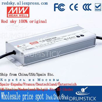 (1PACK) meanwell HLG-320H-24A 24V 13.34A MEAN WELL HLG-320H 320W Single Output LED Driver Power Supply A type