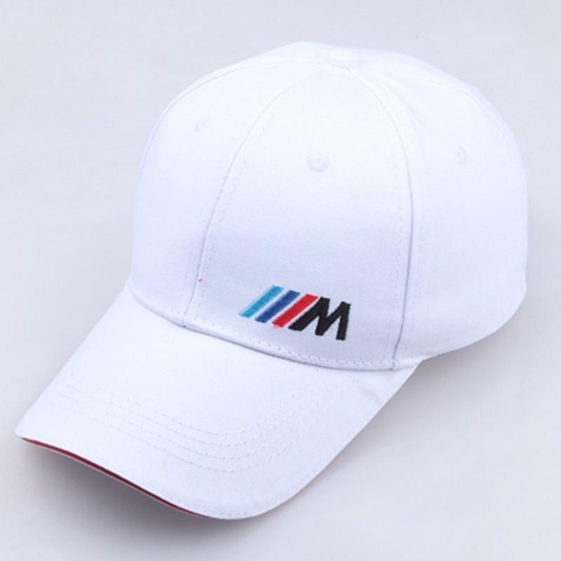 Men Dad Hat Cotton Car Logo M Performance Baseball Cap Hat Cotton Fashion Hip Hop Cap Hats