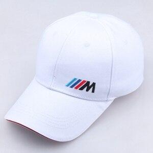 Men dad hat Cotton Car logo M performance Baseball Cap hat cotton fashion hip hop cap hats(China)
