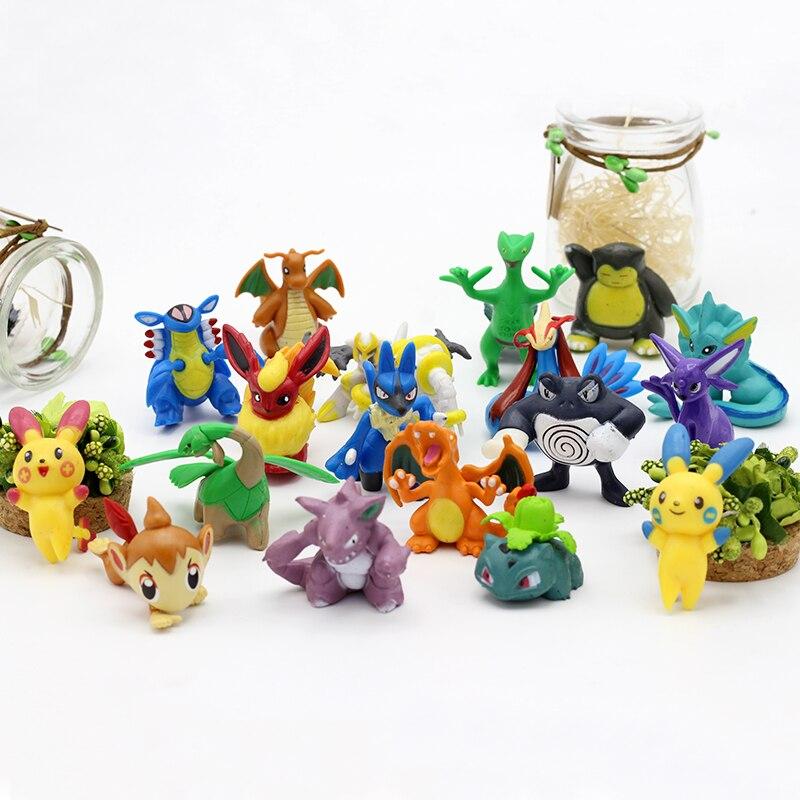 168Pcs-Tomy-Different-Styles-Pokemon-Figures-PVC-Model-Collection-3-4cm-Anime-cartoon-Pok-mon-Pikachu (2)