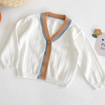 2020 dziecięce zimowe ubrania dla dziewczynki biały kolor ręcznie wełniany dzianinowy płaszcz solidny dziecięcy sweter dla chłopców dzianinowy sweter kombinezon 0-2 wiek tanie i dobre opinie Na co dzień COTTON Poliester Z wełny W wieku 0-6m 7-12m 13-24m CN (pochodzenie) Kobiet Pełna REGULAR Pasuje prawda na wymiar weź swój normalny rozmiar