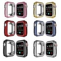 Funda para reloj Apple Watch, protector delgado de Tpu para Iwatch Series 3 2 1 38MM 42MM