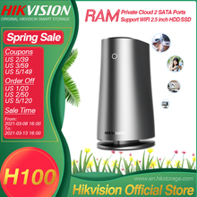 Server Network NAS Hikvision Attached-Storage Wifi Private Cloud Ce 2 for Home/office-Support