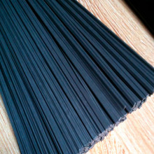 black wide 5mm thick 2.5mm PP plastic welding bumper rod for truck car Headlight shell 100m/lot