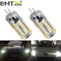 BMTxms 2 pezzi Canbus per Peugeot 3008 5008 Citroen C5 luce diurna HP24W G4 LED DRL luci di marcia diurna nessun errore 6000K 4500K