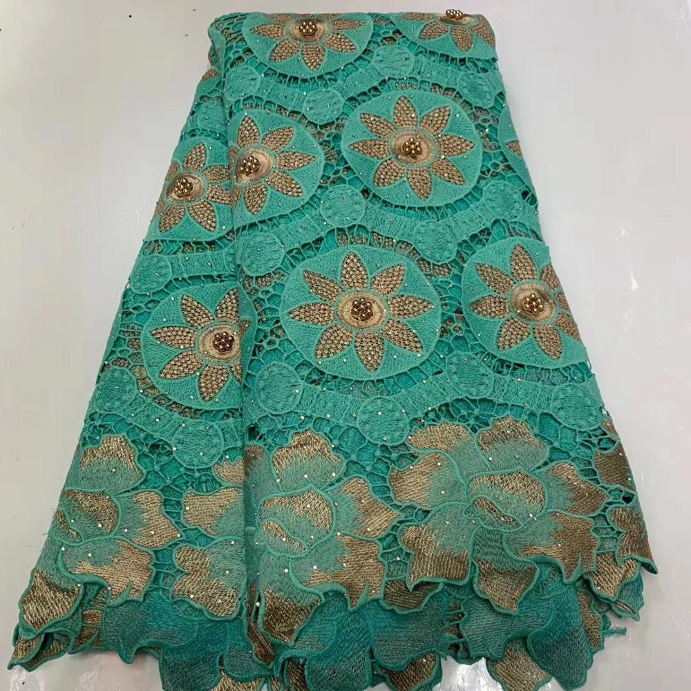 African Swiss Lace Fabric High Quality French Tulle Lace Fabric 2020 Nigerian Laces Guipure Embroidery Fabric For Wedding