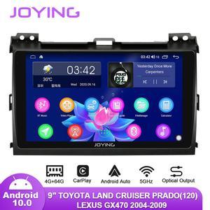 "Image 1 - 9 ""Android10 רכב רדיו עבור טויוטה לנד קרוזר פראדו 120/לקסוס GX470 2004 2009 GPS Carplay אנדרואיד אוטומטי DSP SPDIF סאב DAB"