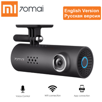 Xiaomi 70mai 1S Smart WiFi Car DVR APP HD 1080P Dash Cam English Russian Voice Control 130 Degree Video Recorder Night Vision