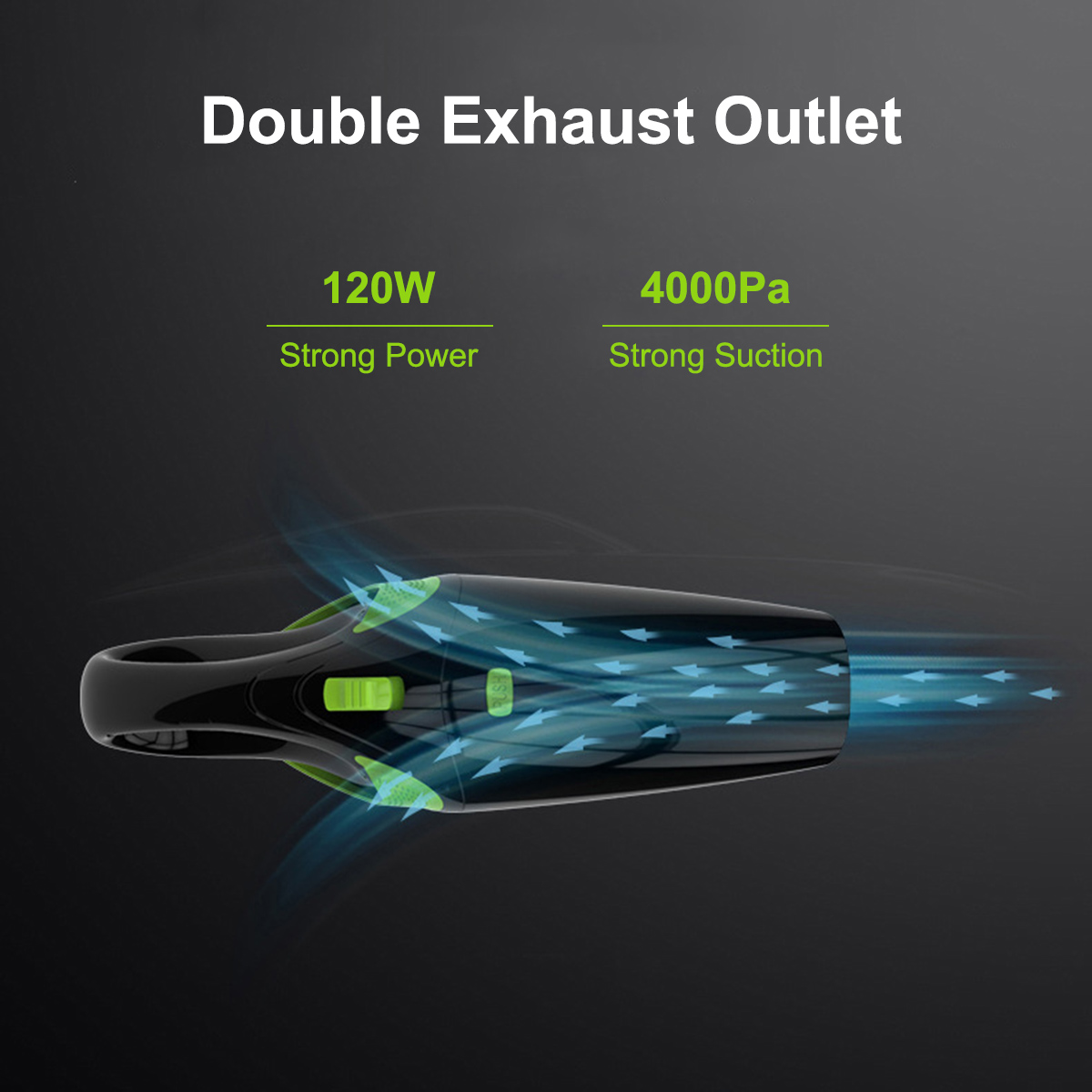 Ручной беспроводной пылесос для дома 120 Вт USB беспроводной влажный сухой мини пылесос пылесборник для домашней чистки автомобиля