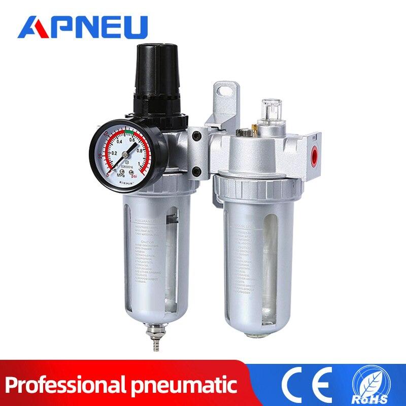 Air Pressure Regulator For Air Compressor Oil//Water Separator Filter Airbrush