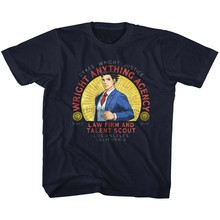 Ace Attorney Wright Qualsiasi Cosa Navy T-Shirt Per Bambini(China)