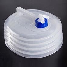 Складное ведро кемпинг на открытом воздухе чайник PE бутылка для воды автомобиль термоусадочная портативный складной
