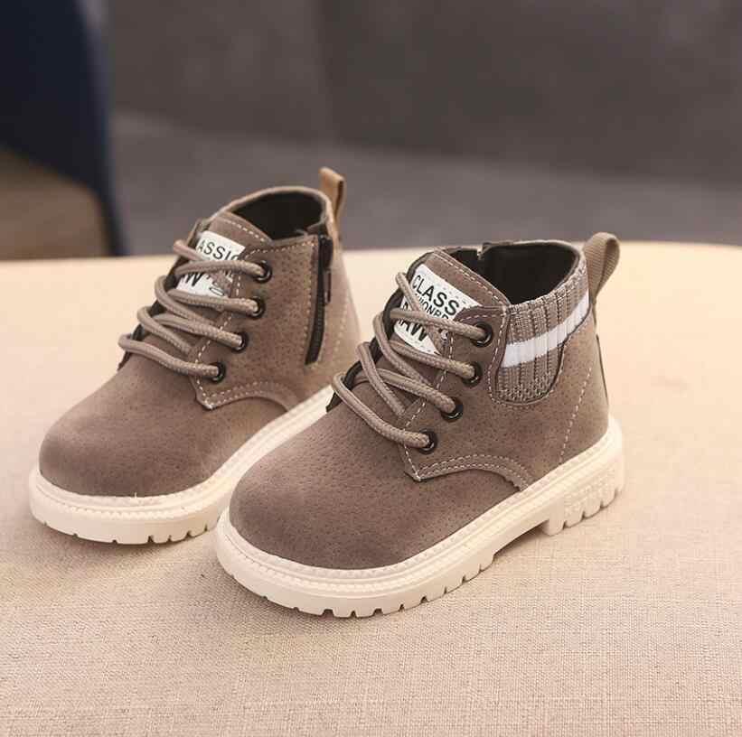BOUSSAC Kinderen Casual Schoenen Baby Jongens Meisjes Martin Laarzen Kinderen Loopschoenen Kids Merk Sport Witte Schoenen Kind Shell Sneakers