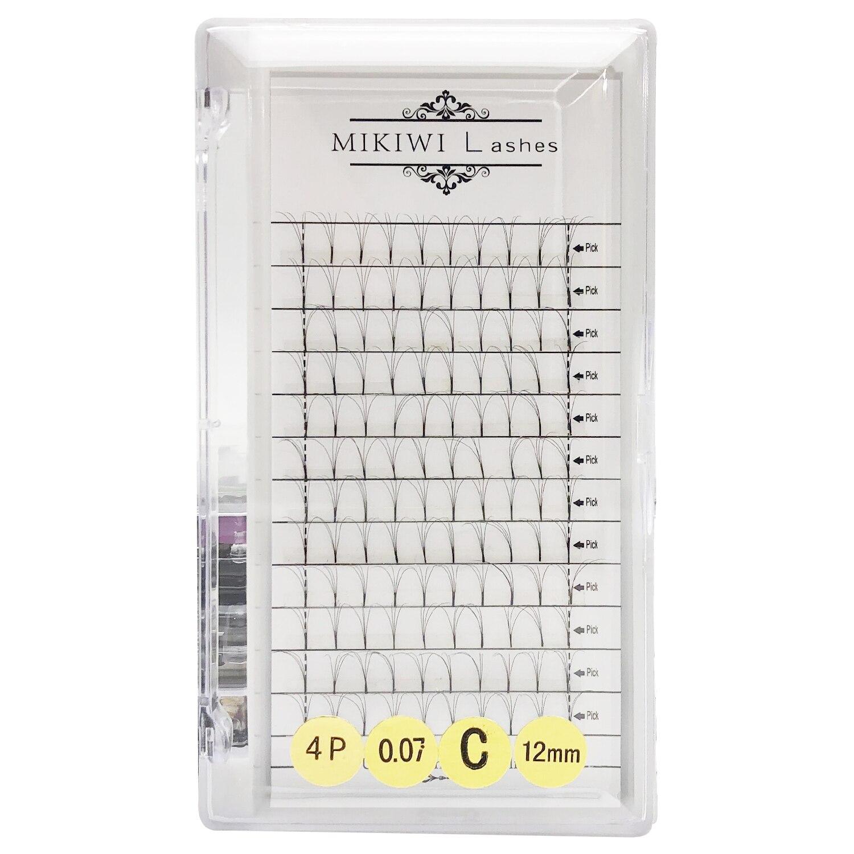 MIKIWI  Individual Silk Eyelash Further All Size,High Quality False Mink,Individual Eyelash Extensions Free Shipping