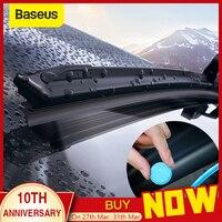 Baseus 12 pièces voiture pare-brise verre solide nettoyant solide essuie-glace lave-glace Auto nettoyage de vitres
