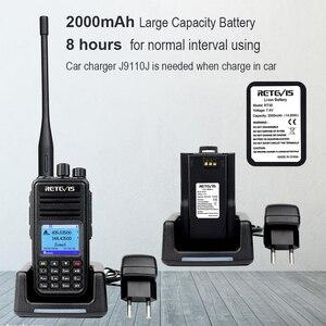 Image 4 - DMR dwuzakresowy Retevis RT3S cyfrowe Walkie Talkie (GPS) VHF UHF Radio DMR Amador szynki nadajnik odbiornik radiowy 2 Way Radio + akcesoria