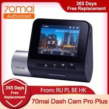 2021 oryginalna kamera na deskę rozdzielczą 70mai Pro A500 prędkość N współrzędne 1944P ADAS kamera samochodowa 70mai A500S 24 godziny parkowanie samochodowa DVR 70mai Plus