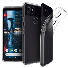 Soft Silicone Case For Google Pixel 3a XL Case Soft TPU Shockproof Transparent Back Cover Phone Case For Google Pixel 3 XL 3 2XL(China)