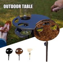 Outdoor Wine Table Outdoor Portable Folding Wine Table Outdoors Garden Travel Beach Camping Table Mesa Plegable Garden Furniture
