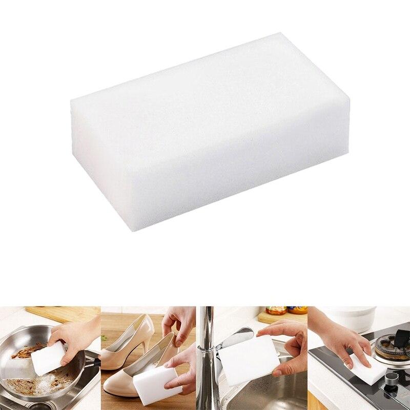 White Super Decontamination Nano Cotton Magic Magic Sponge Home Kitchen Supplies House Water Food Shoes Kitchen Tools Brushes
