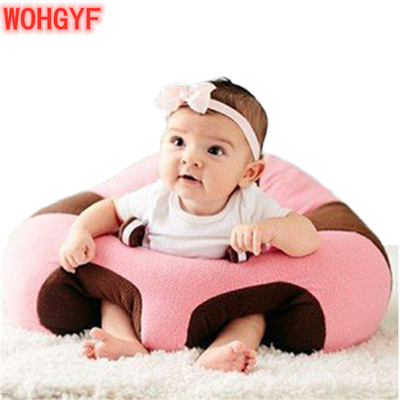 Baby Support Seat Plush Soft Baby Sofa Infant Learning To Sit Chair Keep Sitting Posture Comfortable For Baby Children
