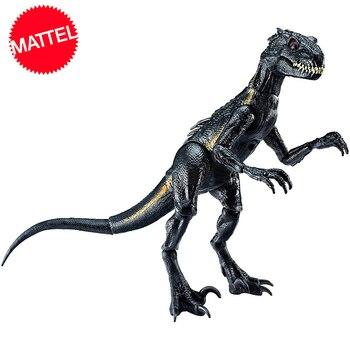 цена на Original Mattel Jurassic World 2 Attack Packvillain Dragon Indominus Rex Action Figure Model Dolls Toys For Children