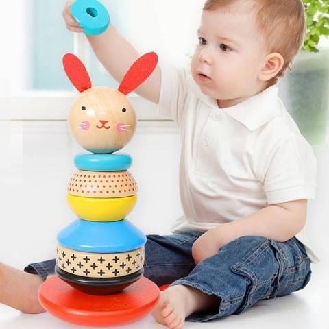 brinquedos do bebe arco iris empilhador brinquedos de madeira para criancas criativo arco iris blocos