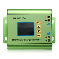 24/36/48/60/72V 10A DC DC Boost LCD MPPT Solar Regulator Charge Controller 7210A