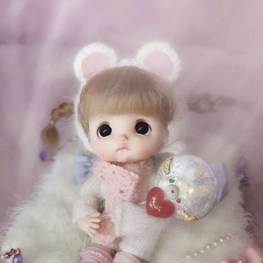 Obitsu OB11 BJD 11CM Doll Toys 19 Joint Top Quality Chinese Doll BJD Ball Joint Doll Fashion Gift Doll With Sweater Set