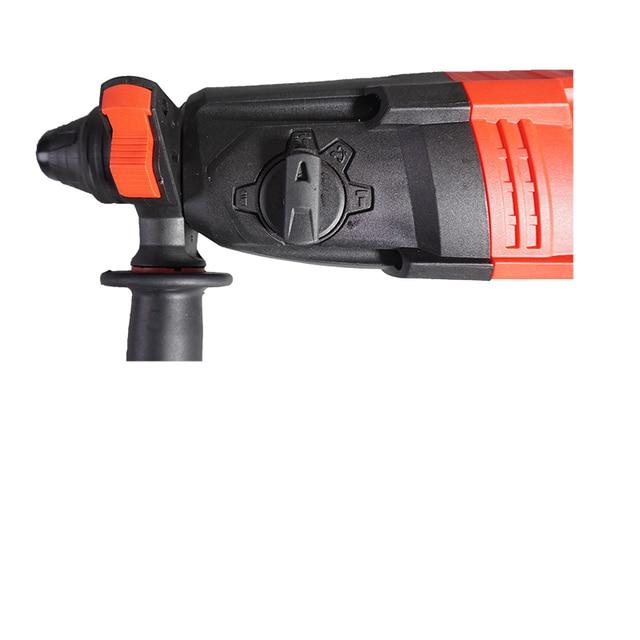 BDWTECH 220V 26mm 4 fonctions AC marteau rotatif électrique avec BMC et 5 pièces accessoires perceuse à percussion perceuse électrique perceuse électrique