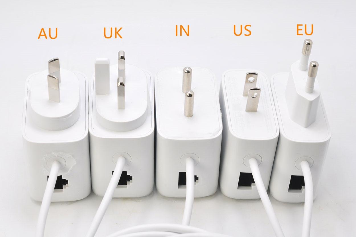 USB-C Ethernet кабель адаптера питания для Chromecast с Google TV 5V 1.5A 7,5 W GELAO PS1 LPS
