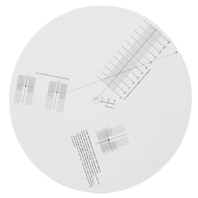 Anti Sliding Lp Vinyl Record Pickup Kalibratie Plaat Afstand Gauge Gradenboog Aanpassing Tool Heerser Voor Draaitafel Accessoires
