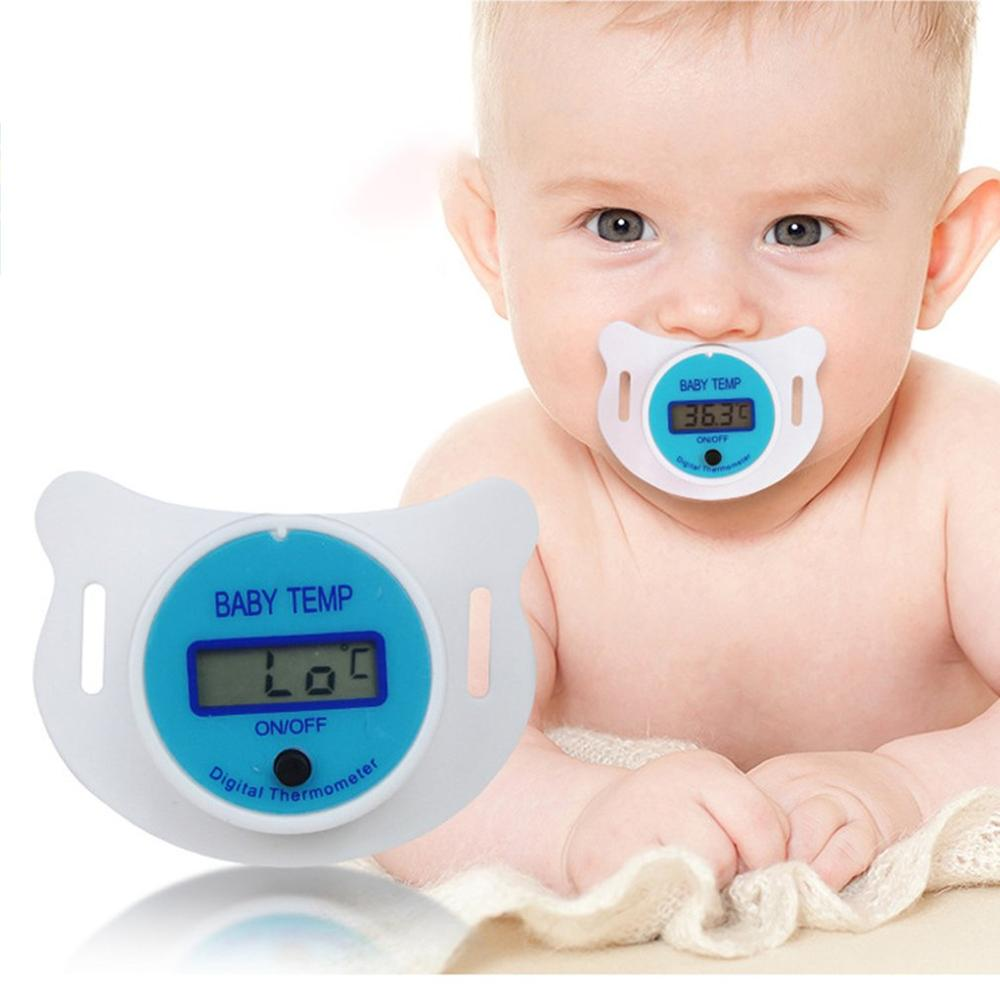 Infant Baby Thermometer Pacifier Lcd Digital Thermometer Baby Temp Measuring body thermometer