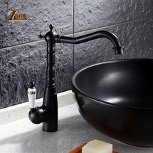 Black Antique Brass Basin Faucet Hot And Cold Basin Mixer Oil Rubbed Finish Bathroom Sink Faucet Water Mixer Tap все цены