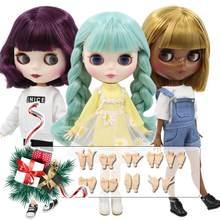 Icy dbs blyth boneca 1/6 bjd brinquedo corpo comum oferta especial mais baixo preço diy meninas presente 30cm acticulated boneca olhos aleatórios cores