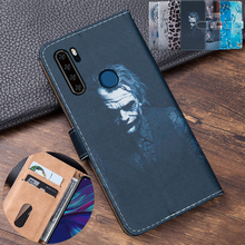 3D Embossing Clown Leather Flip Book Cover For Blackview A80 Pro Case